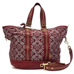 Louis Vuitton Limited Edition Aviator Canvas Plum Red Bag - Satchel. Save 54% on the Louis Vuitton Limited Edition Aviator Canvas Plum Red Bag - Satchel! This satchel is a top 10 member favorite on Tradesy. See how much you can save