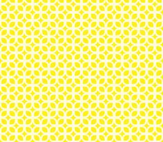 lemon squares fabric by thebline on Spoonflower - custom fabric. want to cover chair seat in this!