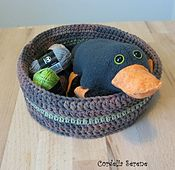 Ravelry: Crocheted Basket - Quick Mini Version pattern by Chase Clark