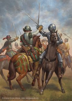 Spanish and Dutch cavalry by jasonjuta on DeviantArt