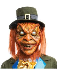 Adult Official Leprechaun Movie Mask