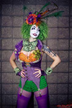 Long Beach Comic Expo - Burlesque Joker's daughter, Duela Dent / Vivid Vivka