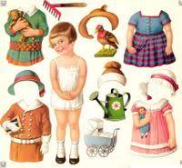 Klippdocks-nostalgi – Paper doll nostalgia | Craft & Creativity