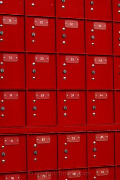 Red Post Boxes