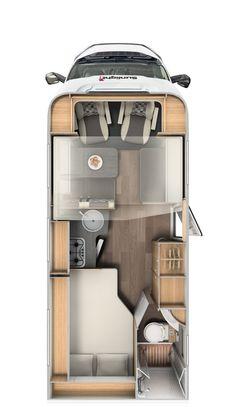 Capron GmbH Neustadt – Motorhomes from Saxony – CARADO – Semi-Integrated - caravan Van Conversion Interior, Camper Van Conversion Diy, Van Conversion Floor Plans, Bus Life, Camper Life, Rv Campers, Teardrop Campers, Teardrop Trailer, Motorhome Vintage