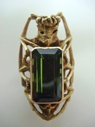 beetle engagement ring, MIELLE HARVEY-USA. I would totally sport this little number