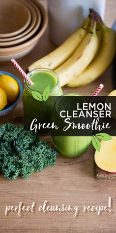 This perfect cleansing smoothie keeps major organs free from toxins- reducing the risk of sickness slowing you down and helping you feel alive and thriving. Find more green smoothie recipes here: http://simplegreensmoothies.com #greensmoothie #blend #cleansing #green #lemon #fresh #banana #vegan #vegetarian #mealreplacement #cleanser #cleaneating