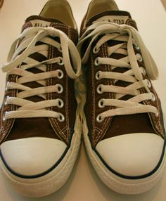 Hipster Converse Chuck Taylor All Star Low Tops Brown by IconOrama, $23.00