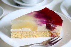 Birnen-Kirsch-Kuchen #obstkuchen