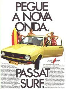 Passat Surf 1978 anúncio