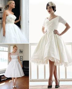 96 best 50\'s style wedding ideas images on Pinterest | 50s wedding ...
