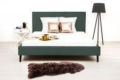 Pat tapitat Kent Double Petrol Green/Black #homedecor #inspiration #homedesign Green Bedding, Outdoor Furniture, Outdoor Decor, House Design, Modern, Home Decor, Black, Trendy Tree, Decoration Home