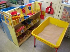 JPEG image - The sand play area and resources ...