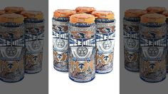 "Brewery employee stamps 20,000 cans of beer with ""Tom Brady Sux"""