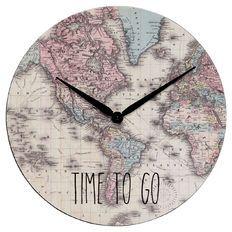 Living & Co World Clock 40cm