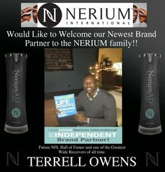 Recognize this guy??? Another major clue! Welcome to the Nerium Family Terrell Owens! If you are ready to join my team contact me or go to teresa3612.nerium.com
