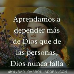 Dios nunca falla