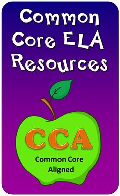 Common Core ELA Resources from Laura Candler's Teaching Resources $