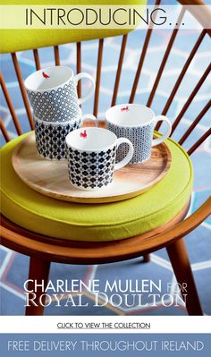 Charlene Mullen's Fabulous New Collection for Royal Doulton at M&B
