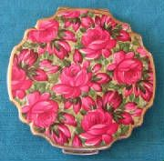 Oh, roses and vintage compact!!