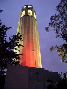 Coit Tower, SF, CA