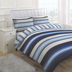 Linens Limited Retro Stripe Duvet Cover Set, Blue, King Linens Limited http://www.amazon.co.uk/dp/B009PMLD0U/ref=cm_sw_r_pi_dp_5gUIvb19WPSCB