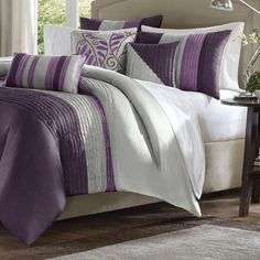 Madison Park Amherst 7 Piece Comforter Set & Reviews   Wayfair