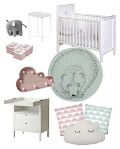 """""""Baby nr2"""" by amandaahlm on Polyvore featuring interior, interiors, interior design, home, home decor, interior decorating and Bloomingville Interior Decorating, Interior Design, Interiors, Kids Rugs, Shoe Bag, Baby, Polyvore, Shopping, Accessories"""