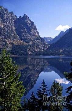 Jenny Lake, Grand Teton National Park, Wyoming; photo by .Charles Haire