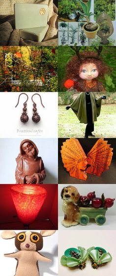 INTO THE WOODS.............Gratitude Treasury by Pat Peters on Etsy--Pinned with TreasuryPin.com