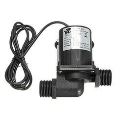 Magnetic DC 12V Electric Brushless Centrifugal Water Pump 3M Fountain HASSADIN122