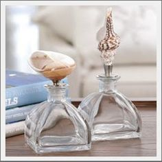 Seaside Inspired - Specializing in Modern Beach Decor: {the side} Seashell Bottle
