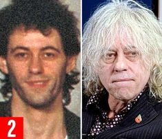 Bob Geldof: Band Aid's co-founder, he's worth £32 million. He's faced double tragedy - his...