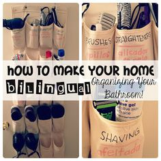 For the Love of Spanish: Linky Lunes & Making Your Home Bilingual