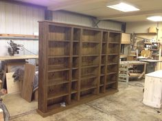 Made from rough sawn timber with CD storage