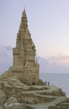 Sand castle by octapuff