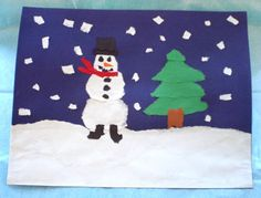 Torn paper art  http://fun.familyeducation.com/slideshow/arts-and-crafts/59863.html?page=2=1#