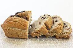 Banana Bread con granella di cacao crudo.