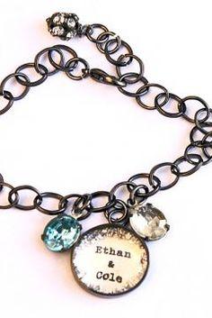 Mother\'s Custom Birthstone Bracelet