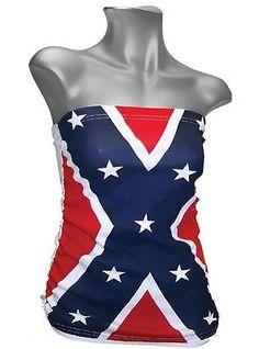 flag shirt confederate sexy