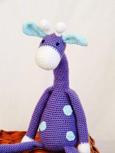 Amigurumi Crochet Giraffe Stuffed Toy READY TO by KornflakeStew, £28.00