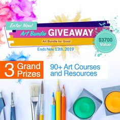 Online Art Classes by top online art instructors at a discount. Enter the Art Giveaway for a chance to win thousands of dollars of online art courses. Online Art Courses, Close Up Art, Morning Pages, Journal Themes, Food Drawing, Christmas Traditions, Cool Art, Giveaway, How To Draw Hands