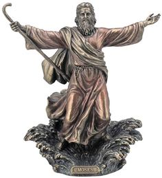 Moses Parting The Red Sea Religious Figurine Statue Sculpture Statuary-Home Décor-Decorations-Christian Related Gifts-Available for Sale at AllSculptures.com