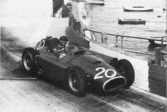 1956 GP de Monaco- Jan Manuel Fangio Ferrari D50