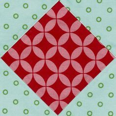 Video tutorial: quick and easy square in a square quilt block