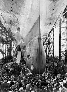 Here are some of the images I've been looking at while putting together a Sunday story marking the phenomenal impact of Newport News Shipbuilding chief Homer L. Ferguson on the storied yard and the surrounding region. http://bit.ly/1J64Xz7 -- Mark St. John Erickson