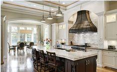Amerikan mutfak dekorasyon modelleri