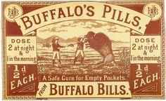 Buffalo's Pills Ad.