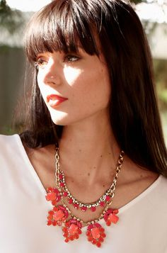 Spring Awakening Necklace $138   Available 1/11/13