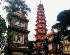Tran Quoc Pagoda - Foto Mundukos